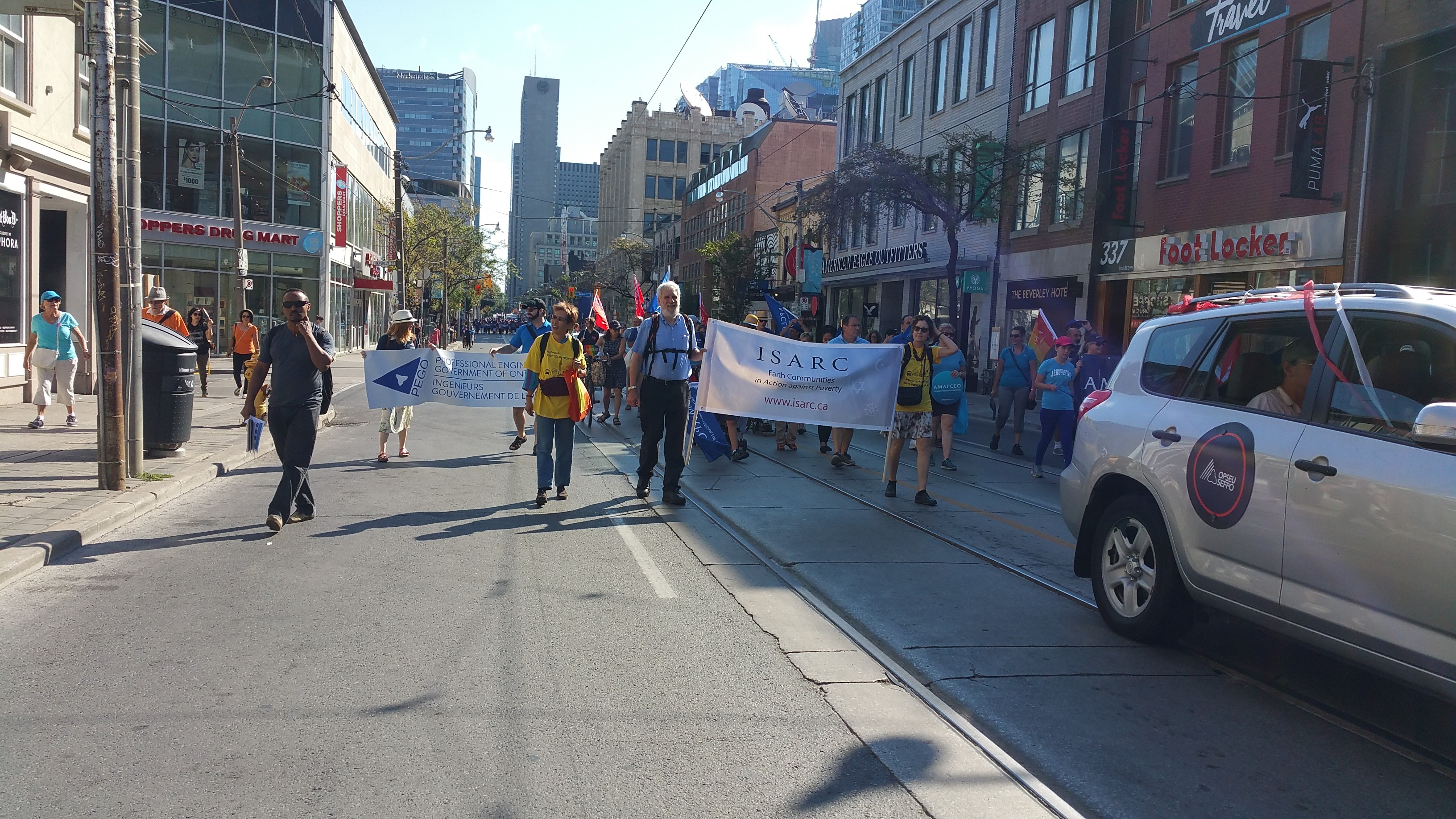 Annual 2016 Toronto Labour Day Parade 2