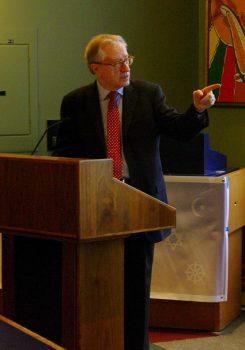 Senator Art Eggleton - keynote Speaker
